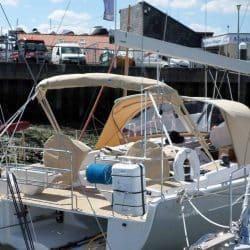 Hanse 575 Narrow standard Bimini_4