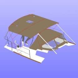 Jeanneau Sun Odyssey 319 Bimini_12