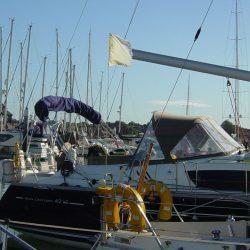 Jeanneau Sun Odyssey 42ds Bimini 2009 onwards_4