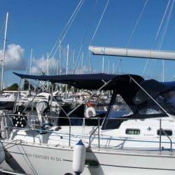 Jeanneau Sun Odyssey 43ds Bimini, new design with aft extension_1