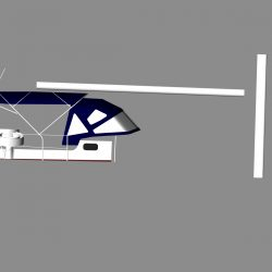 Jeanneau Sun Odyssey 43ds Bimini, new design with aft extension_8