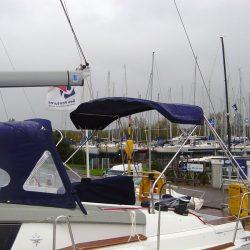 Jeanneau Sun Odyssey 44ds Helm Bimini with infill panel_1