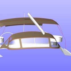 Jeanneau Sun Odyssey 469 Bimini, design 1_14