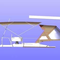Jeanneau Sun Odyssey 469 Bimini, design 2_21