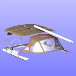 Jeanneau Sun Odyssey 469 Bimini, design 2_23