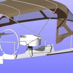 Jeanneau Sun Odyssey 469 Bimini, design 2_25