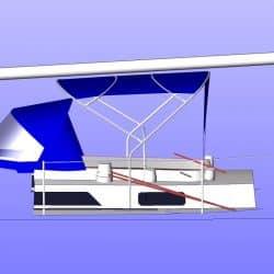 Moody 425 Bimini, later design_8