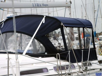 Moody 44 Bimini type 2, shown with Bimini Conversion_1