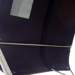 Nicholson 55 Helm Bimini with optional side curtains_5
