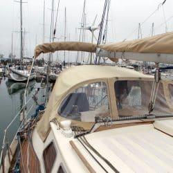 Seastream 43 Bimini and Sprayhood connection panel_12