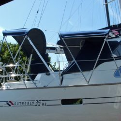 Southerly 35rs, 3 part Bimini_3