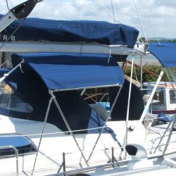 Southerly 35rs, 3 part Bimini_5