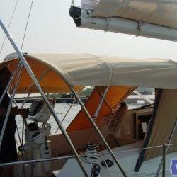 Southerly 35rs Bimini, forward mainsheet position_2