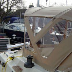 Southerly 420 Bimini, optional Bimini Conversion_2