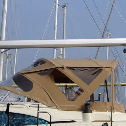 Southerly 420 Bimini, optional Bimini Conversion_3