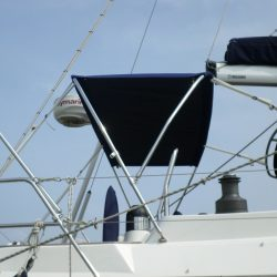Southerly 42rst Helm Bimini utilising existing Cockpit Enclosure frame, boat 36 onwards_2