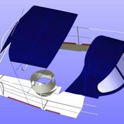 Westerly Oceanquest aft cockpit Bimini_15