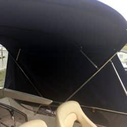 Fairline Phantom 48, Flybridge Bimini Side Shade Panels_2