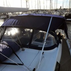 Hanse 415, Bimini Extended Side Shade Panels_3