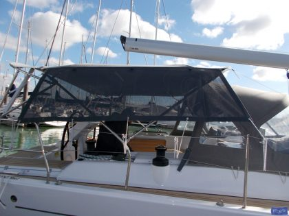 Hanse 455 Bimini Mesh, Side Shade Panels_1