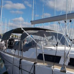 Hanse 455 Bimini Mesh, Side Shade Panels_2