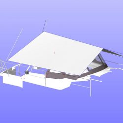Hanse 315 Boom Tent_5