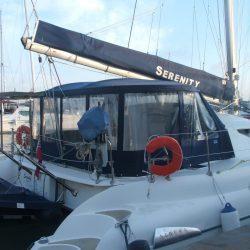 Athena Catamaran Cockpit Enclsoure, Serenity_11