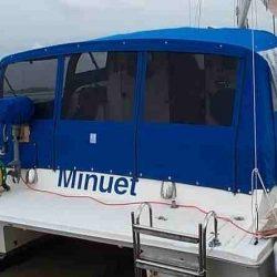 Catamaran, one off design, Cockpit Enclosure_2