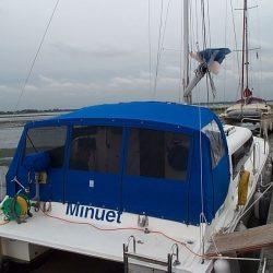 Catamaran, one off design, Cockpit Enclosure_1