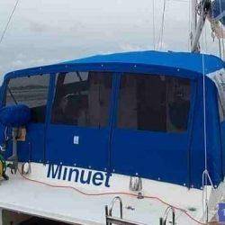 Catamaran, one off design, Cockpit Enclosure_3
