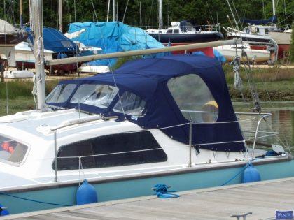 Hirondelle Catamaran, Harmony Cockpit Enclosure _1