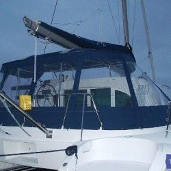 Lagoon 380, Bimini Conversion