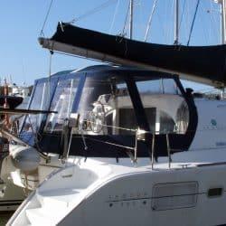 Lagoon 380, Bimini Conversion, Design 2, ref Gira _2