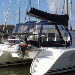 Lagoon 380, Bimini Conversion, Design 2, ref Gira _3