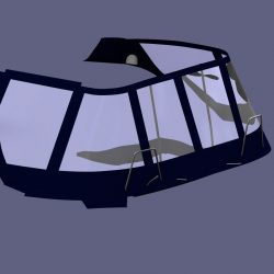Lagoon 380, Bimini Conversion, Design 2, ref Gira _7