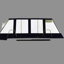 Lagoon 380, Bimini Conversion, Design 2, ref Gira _8