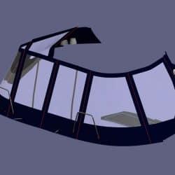 Lagoon 380, Bimini Conversion, Design 2, ref Gira _9