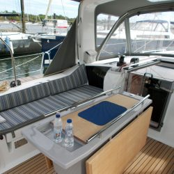 Beneteau Oceanis 41.1, Cockpit Seat and Back Cushions_11