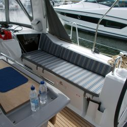 Beneteau Oceanis 41.1, Cockpit Seat and Back Cushions_13
