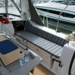 Beneteau Oceanis 41.1, Cockpit Seat and Back Cushions_14
