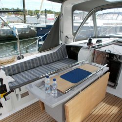 Beneteau Oceanis 41.1, Cockpit Seat and Back Cushions_8