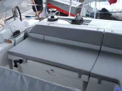 Beneteau Oceanis 55 Cockpit Seat and Back Cushions_1