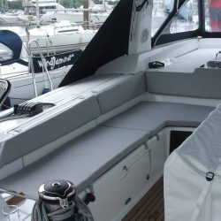 Beneteau Oceanis 55 Cockpit Seat and Back Cushions_2
