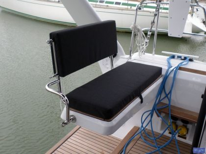 Beneteau Sense 50 Helm cushions and Bolster cushion_4