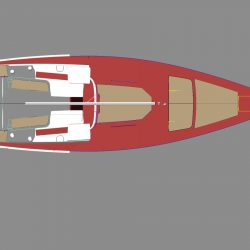 Hanse 495 Cockpit, Helm and Exterior Cushions_1