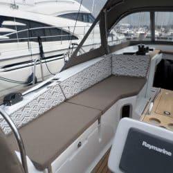 Jeanneau Sun Odyssey 41ds Cockpit Cushions, seats and backs_2