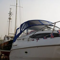 Bayliner Cierra 2655 Fore and Aft Cockpit Canopies_5