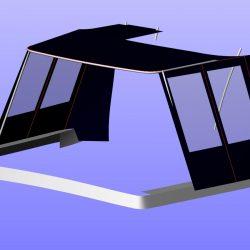 Beneteau Antares 10.8 Half Cockpit Enclosure_4
