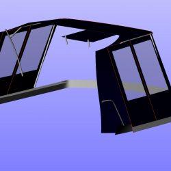 Beneteau Antares 10.8 Half Cockpit Enclosure_6