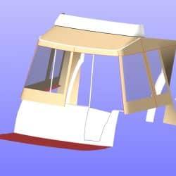 Beneteau Antares 30 Cockpit Enclosure, JACARANDA_13